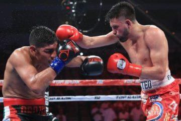 Photo of Jose Ramirez in his title fight vs. Antonio Orozco