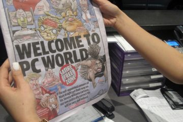 Photo of the front cover of Melbourne-based newspaper, Herald Sun, cover