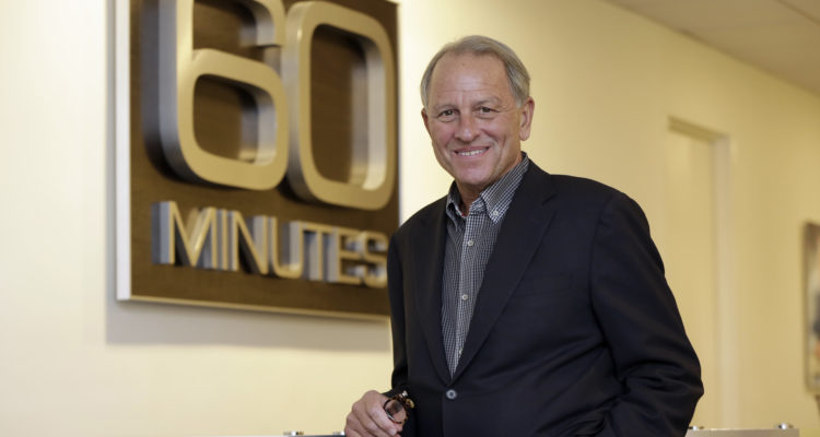 Photo of Jeff Fager posing at the 60 Minutes office in New York