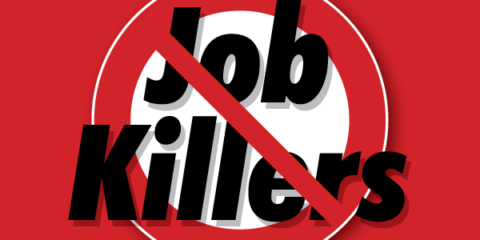 Cal Chamber of Commerce's Job Killers Logo