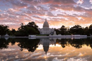 Photo of the U.S. Capitol is seen at sunrise, in Washington in 2017