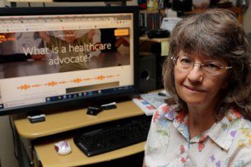 Photo of April Box, a healthcare advocate
