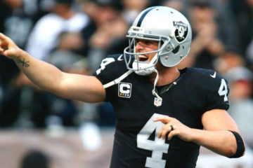 Photo of Oakland Raiders Quarterback Derek Carr