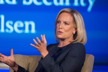 Photo of Secretary of Homeland Security Kirstjen Nielsen