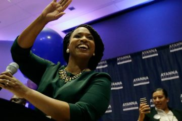 Photo of Boston City Councilor Ayanna Pressley