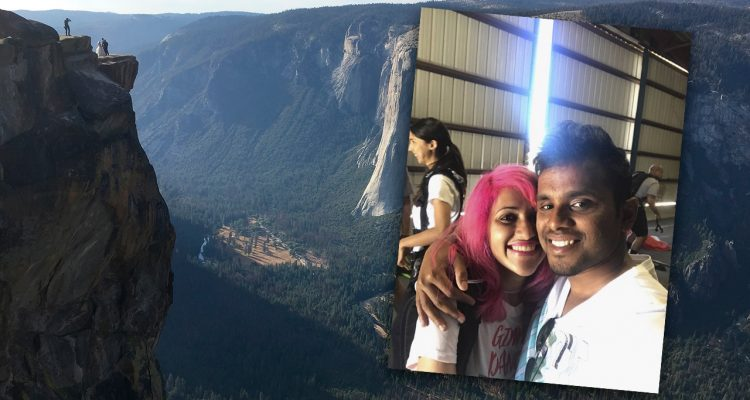 Photo of Yosemite National Park and the couple that fell to their deaths