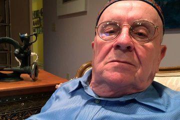Photo of Holocaust survivor Judah Samet