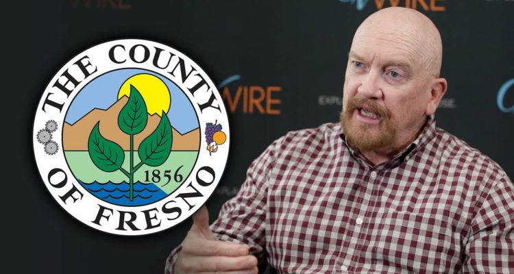 Photo of Steve Brandau with Fresno County logo superimposed