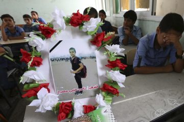 Photo of 11-year-old boy killed in Gaza