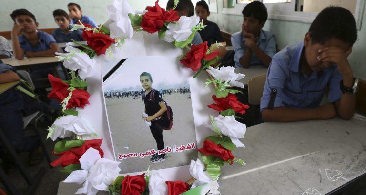 Photo of 11-year-old boy killed in Gaza