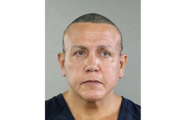 Photo of mail bomb suspect Cesar Sayoc
