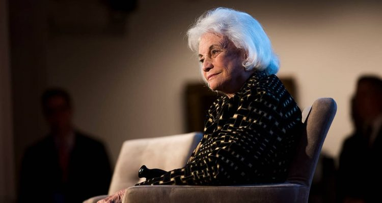 Photo of Sandra Day O'Connor at the Seneca Women Global Leadership Forum