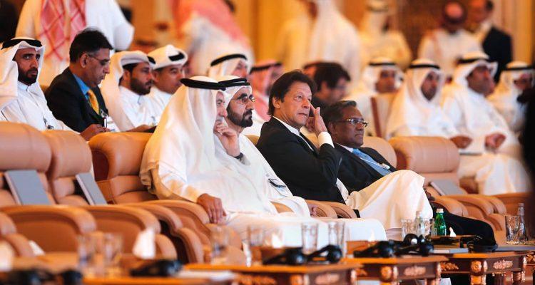 Photo of Pakistani Prime Minister Imran Khan and United Arab Emirates Prime Minister Sheikh Mohammad