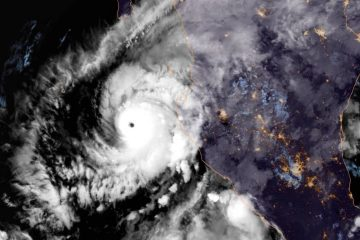 Photo of Hurricane Willa