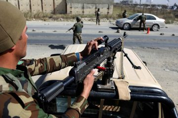 Photo of Afghan National Army soldiers
