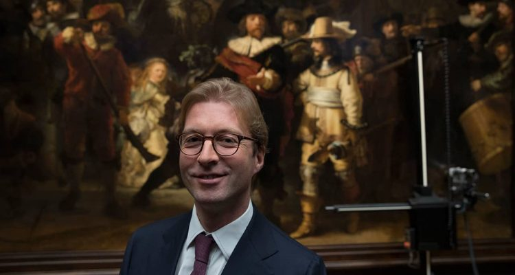 Photo of Rijksmuseum director Taco Dibbets