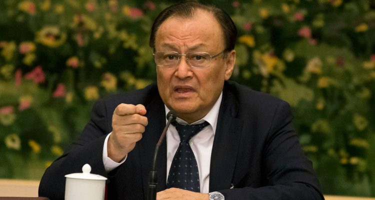 Photo of Shohrat Zakir, chairman of the Xinjiang Uyghur Autonomous Region