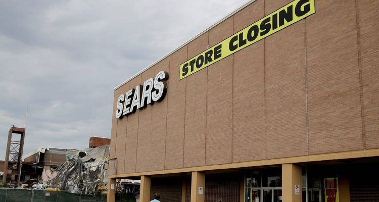 Photo of a Sears store slated for closing