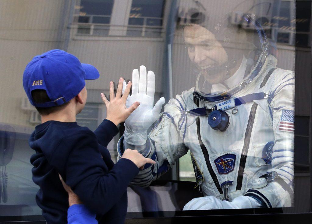 Photo of U.S. astronaut Nick Hague
