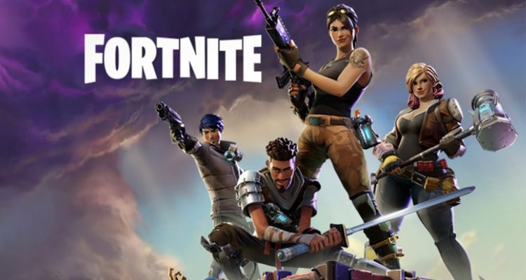 """Photo of the cover of the video game """"Fortnight"""""""