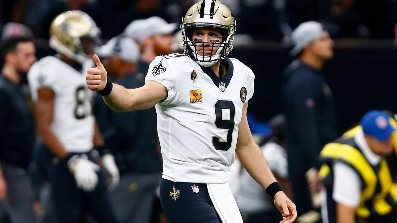 Photo of New Orleans Saints quarterback Drew Brees