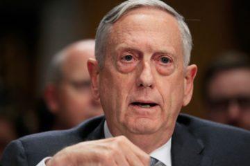 Photo of Secretary of Defense Jim Mattis