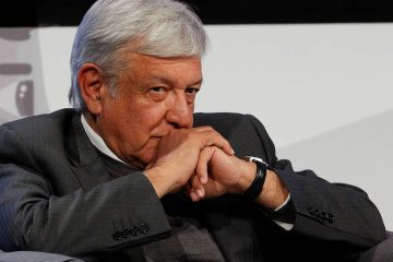 Photo of Mexican President-elect Andres Manuel Lopez Obrador