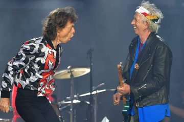 Photo of Mick Jagger and Keith Richards