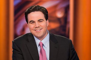 Photo of Robert Costa on the PBS set