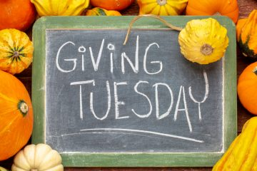 Illustration promoting Giving Tuesday