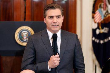 Photo of CNN journalist Jim Acosta