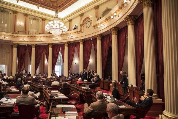 Picture of the California Senate Chamber