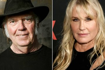 Photo of Neil Young and Daryl Hannah