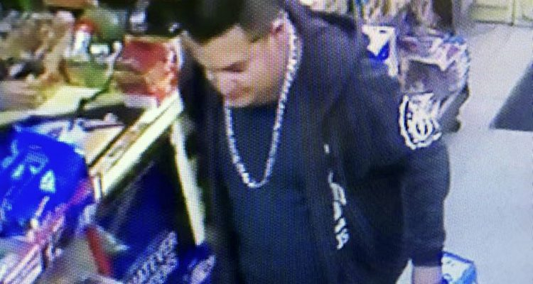 Photo of suspect in slaying of a Newman, California, police officer