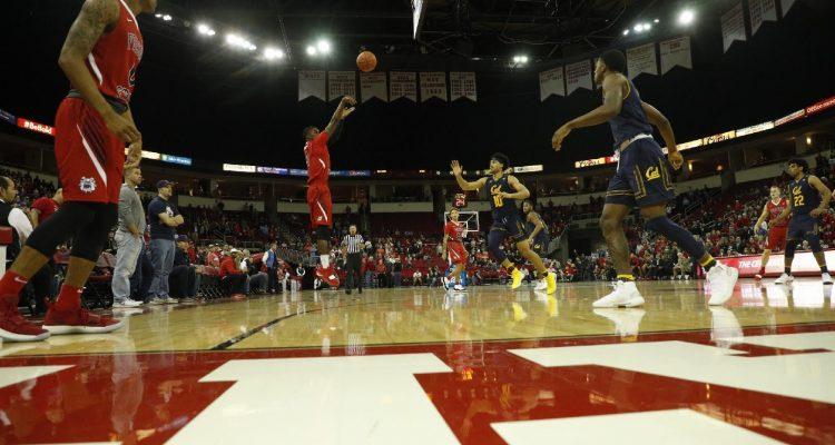 Photo of Fresno State senior guard Braxton Huggins
