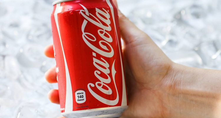 Photo of a coca-cola can