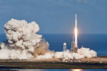Photo of NASA rocket launch