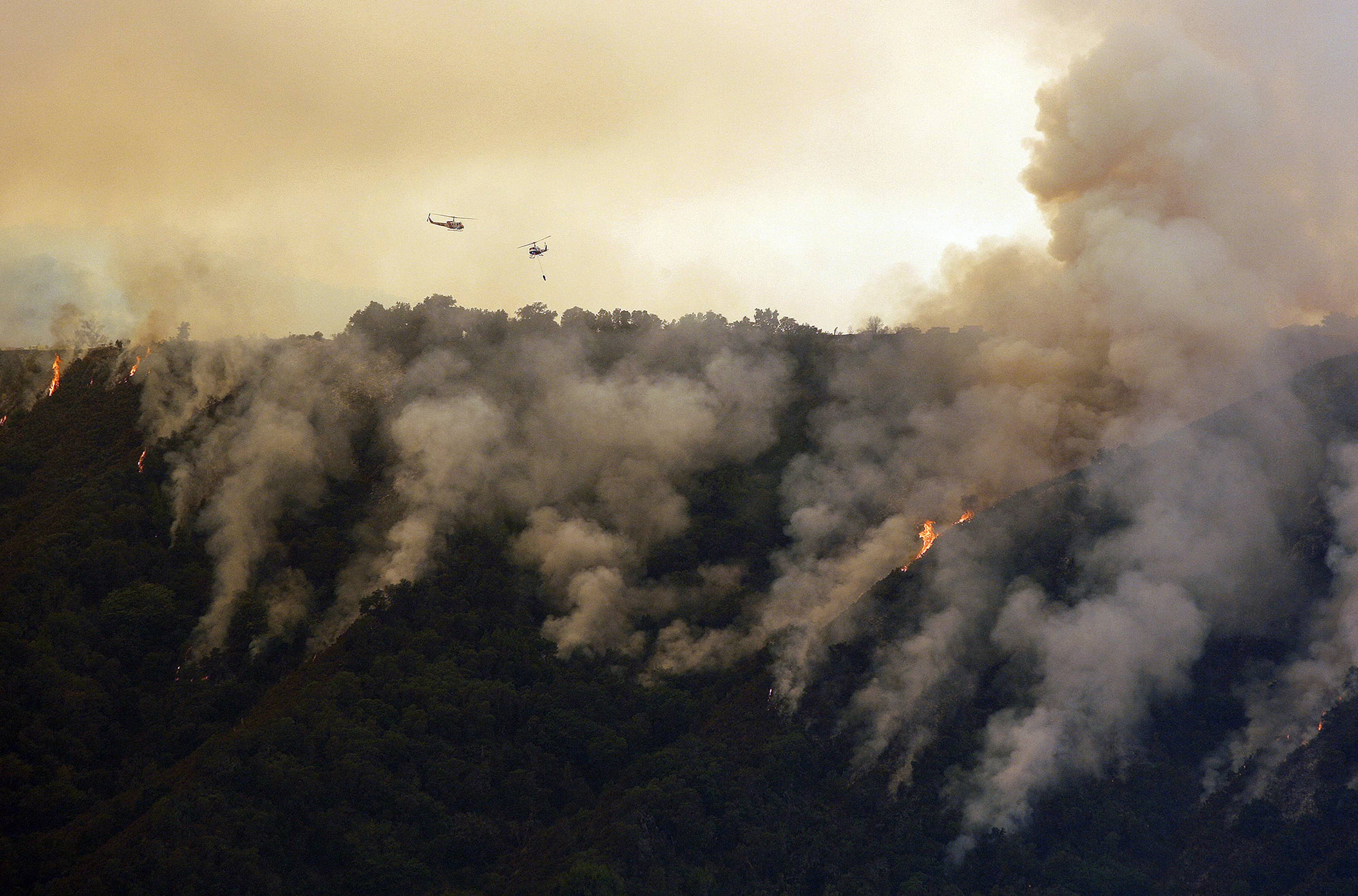 Photo of the Soberanes Fires