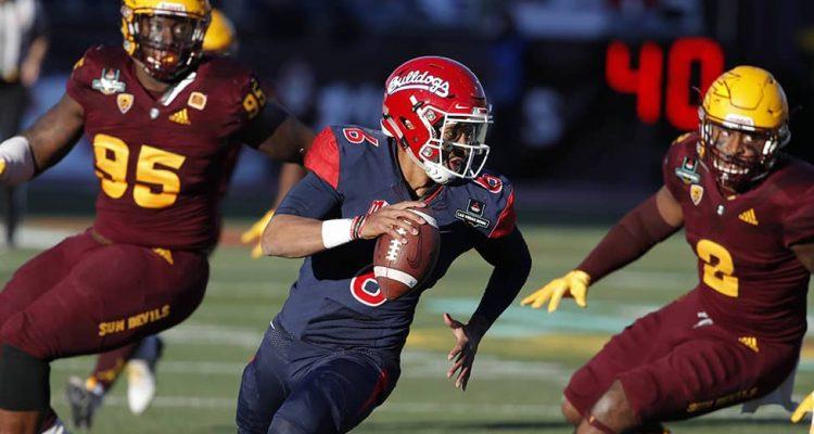 Photo of Fresno State quarterback Marcus McMaryion