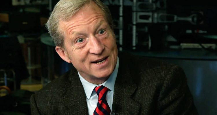 Photo of billionaire liberal political activist Tom Steyer