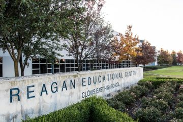 Photo of Reagan Education Center in the Loma Vista neighborhood of Clovis, California