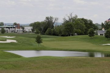 Photo of Trump National Golf Club in Bedminster, N.J.