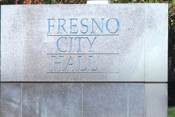 Photo of Fresno City Hall sign