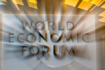 World Economic Forum signage