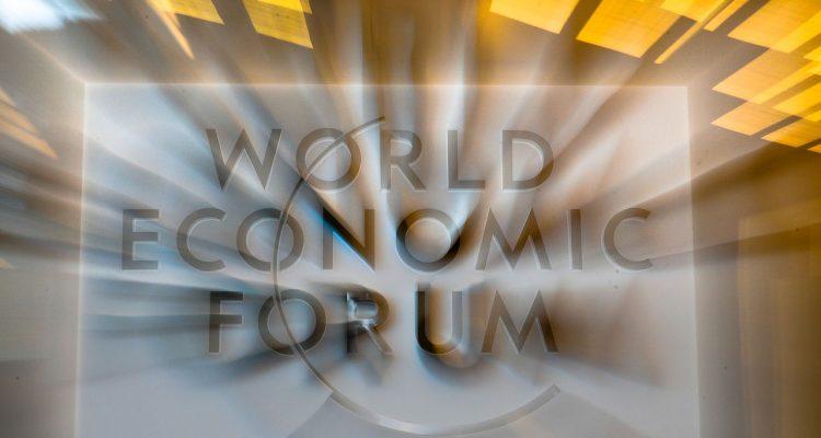 World Economic Forum signage
