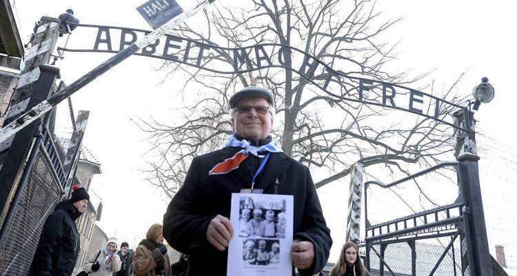 Photo of Auschwitz survivor