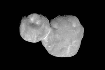Photo of the Kuiper belt object Ultima Thule