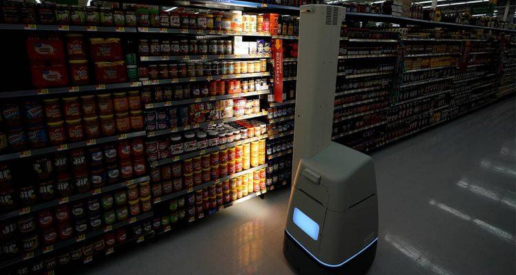 Photo of a Bossa Nova robot