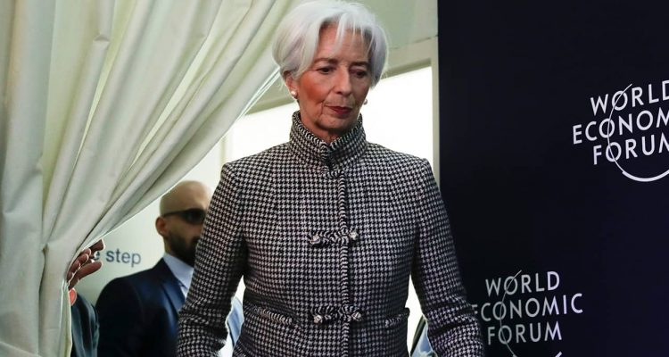 Photo of International Monetary Fund Managing Director Christine Lagarde