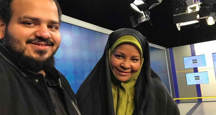 Photo of American-born news anchor Marzieh Hashemi